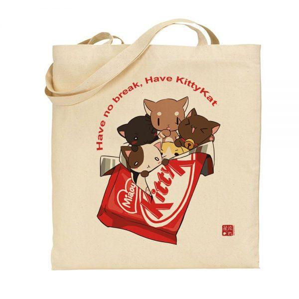 tote-bag kitty kat