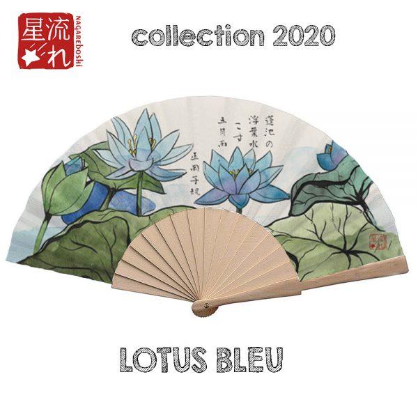 éventail lotus