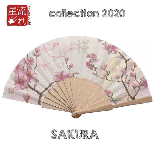 éventail sakura