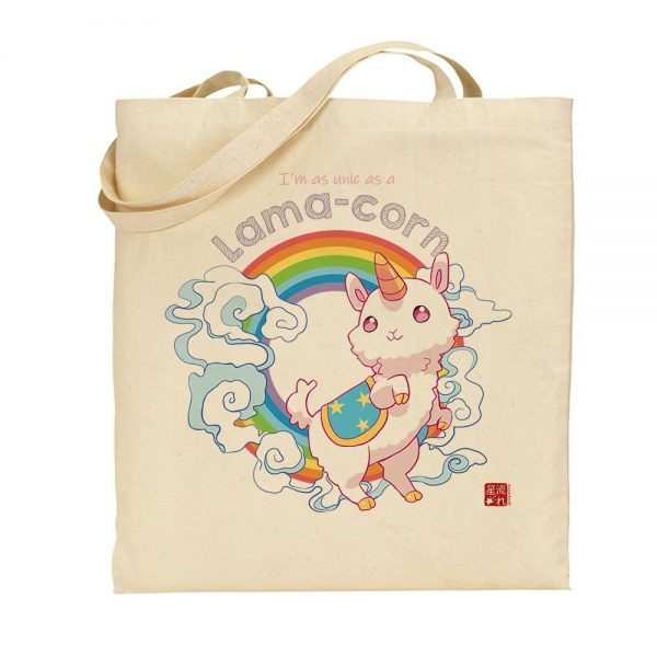 tote-bag lamacorne