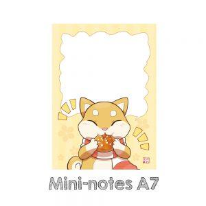 mini notes kumo brioche