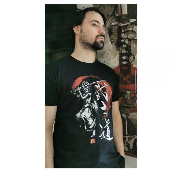 t-shirt guerrier japonais