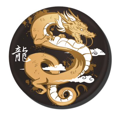 badge 75 dragon
