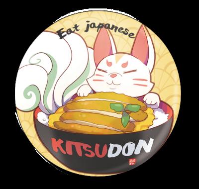 badge 75 kitsudon