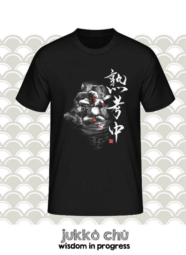 t-shirt singe japonais