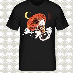 t-shirt nekomata