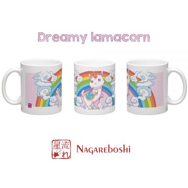 mug lamacorn kawaii