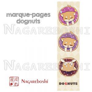 marque-page shiba dognut