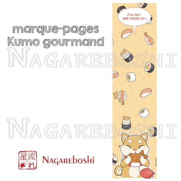 marque-pages Kumo gourmand
