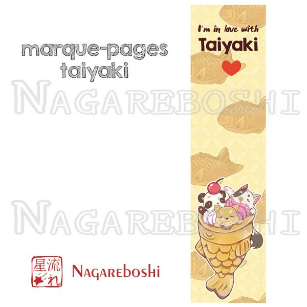 marque-pages taiyaki