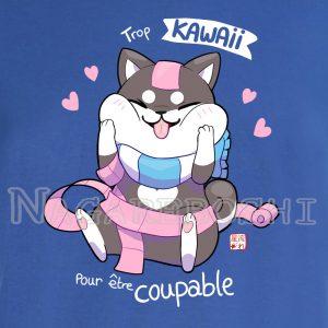 t-shirt shiba kawaii