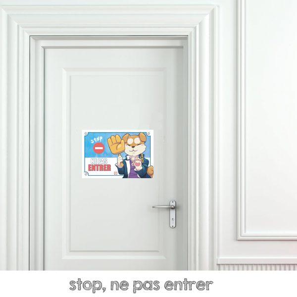 interdiction d'entrer