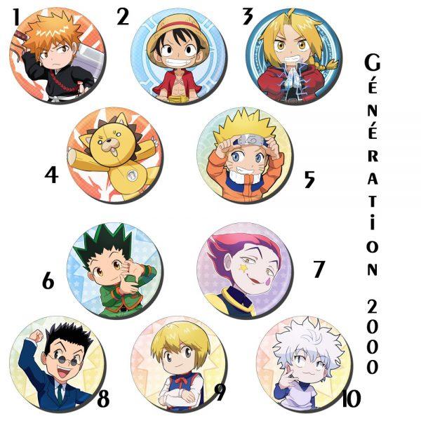 badges génération 2000