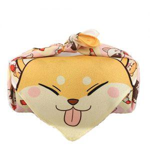 furoshiki shiba et chat