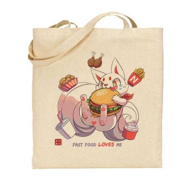 tote-bag fast food