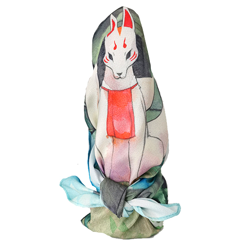 furoshiki renard japonais