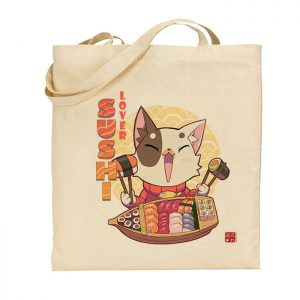 tote-bag sushi lover