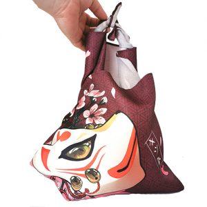 furoshiki masque de kitsune