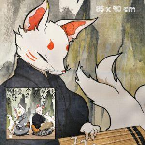 noren kitsune shamisen