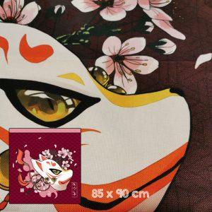 noren masque renard sakura