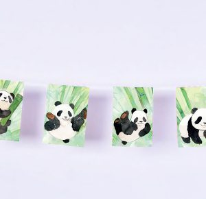 guirlande pandas