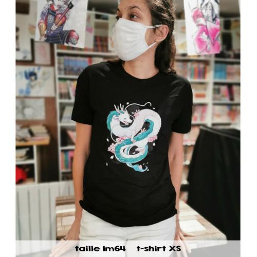 t-shirt dragon fille
