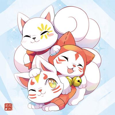 déco kitsune kawaii