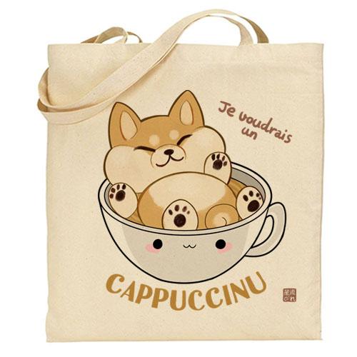 tote-bag cappuccinu