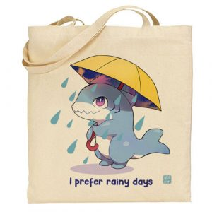 tote-bag requin pluie