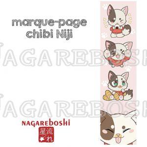 marque page chibi neko