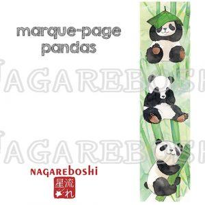 marque-page pandas