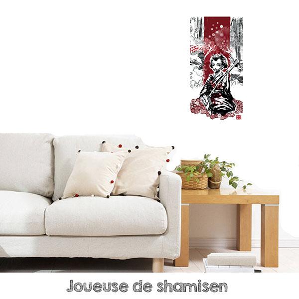 tableau shamisen
