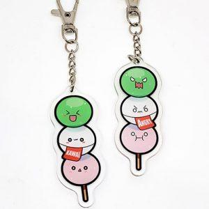 porte-clés dango kawaii