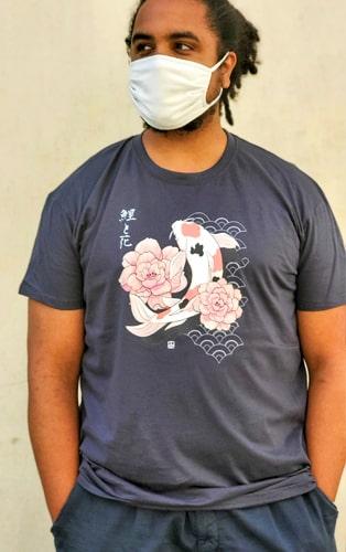 t-shirt koi to hana XL