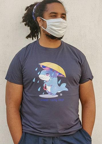 t-shirt rainy days XL