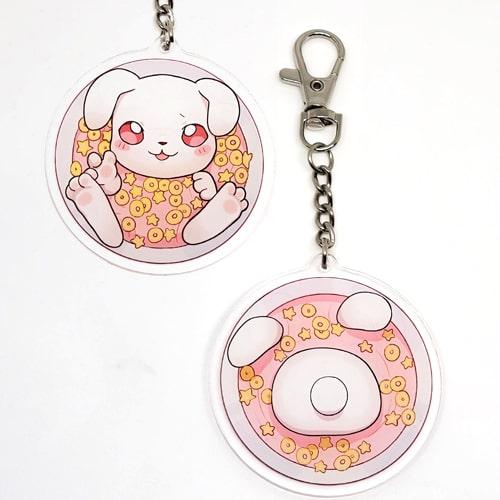 porte-clés tsuki céréales